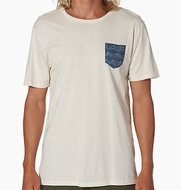 Reef Reef- Vacy Crew Natural- T-Shirt- 2017