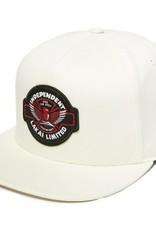 Lakai Lakai- Indy Snapback- White- Hat