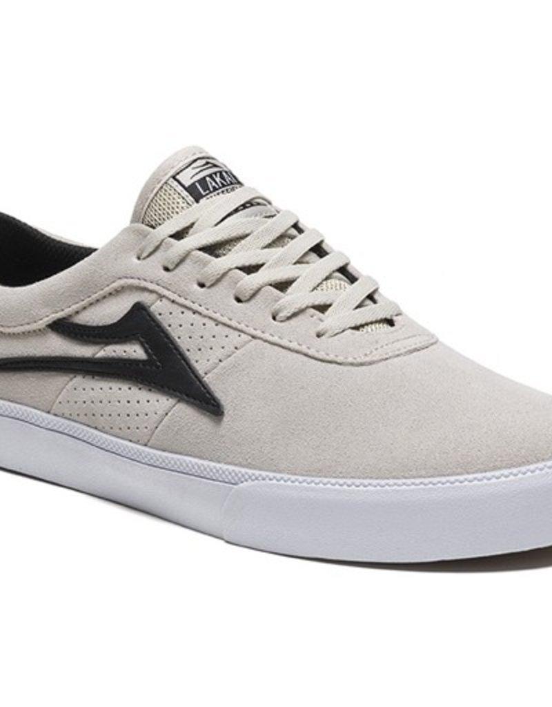 Lakai Lakai- Sheffield- Suede- White/Black- Men's- Shoes