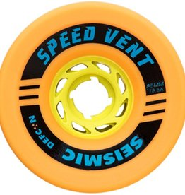 Seismic Seismic- Speed Vent- 85mm- 78.5a- Mango Defcon- Wheels