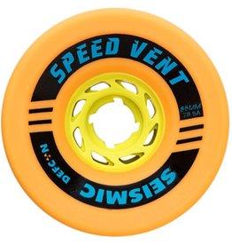 Seismic Seismic- Speed Vent- 85mm- 78.5a- Mango Defcon- Wheels