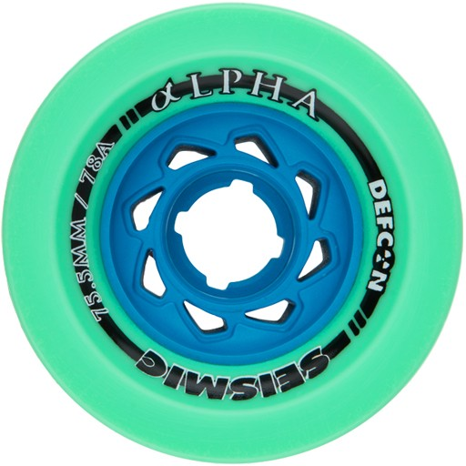 Seismic Seismic- Alpha- 75.5 mm- 78a- Mint Defcon- Wheels