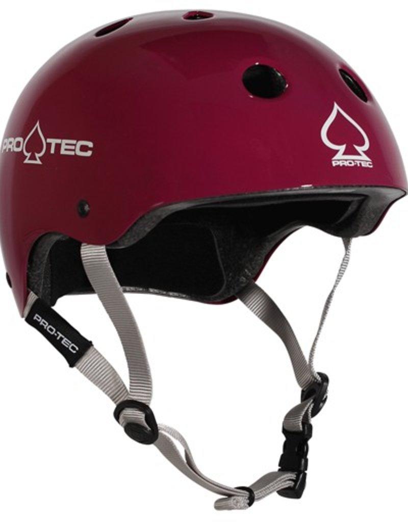Pro-Tec Pro-Tec- Classic Skate- Certified- Gloss Eggplant- XSml- Helmet