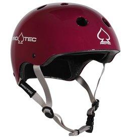 Pro-Tec Pro-Tec- Classic Skate- Certified- Gloss Eggplant- Medium- Helmet