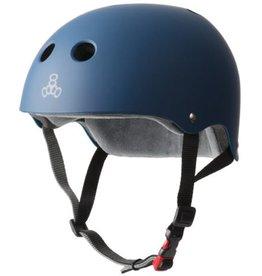 Triple Eight Triple Eight- Certified Sweatsaver- Navy Rubber- XS/S- Helmet
