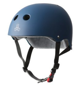 Triple Eight Triple Eight- Certified Sweatsaver- Navy Rubber- L/XL- Helmet