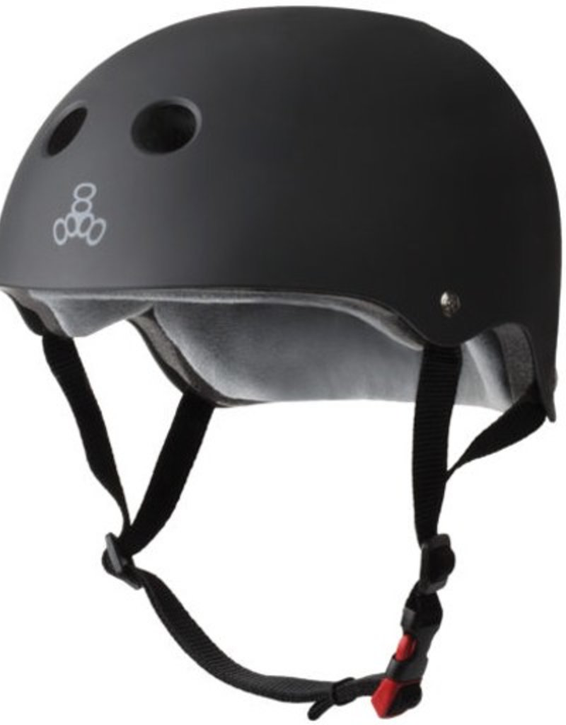 Triple Eight Triple Eight- Certified Sweatsaver- Black Rubber- XS/S- Helmet