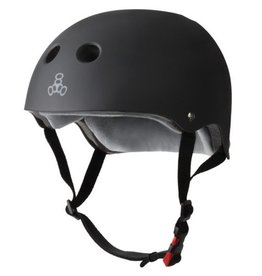 Triple Eight Triple Eight- Certified Sweatsaver- Black Rubber- S/M- Helmet