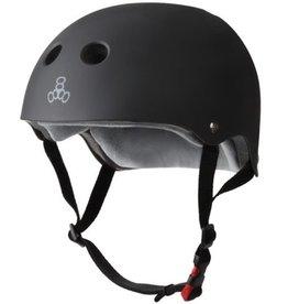 Triple Eight Triple Eight- Certified Sweatsaver- Black Rubber- L/XL- Helmet