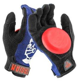 Trojan Trojan- Denim Disaster- Blue- Sml/Med- Slide Gloves