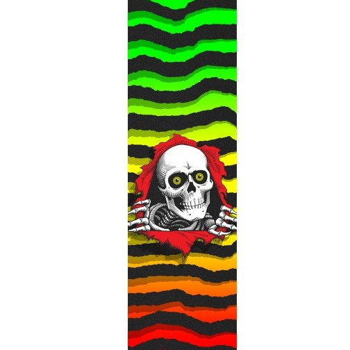 Powell Peralta Powell Peralta- Ripper Fade- Graphic Grip- 9 x 33 in Sheet- Grip Tape
