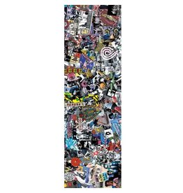 Powell Peralta Powell Peralta- Collage- Graphic Grip- 9 x 33 in Sheet- Grip Tape