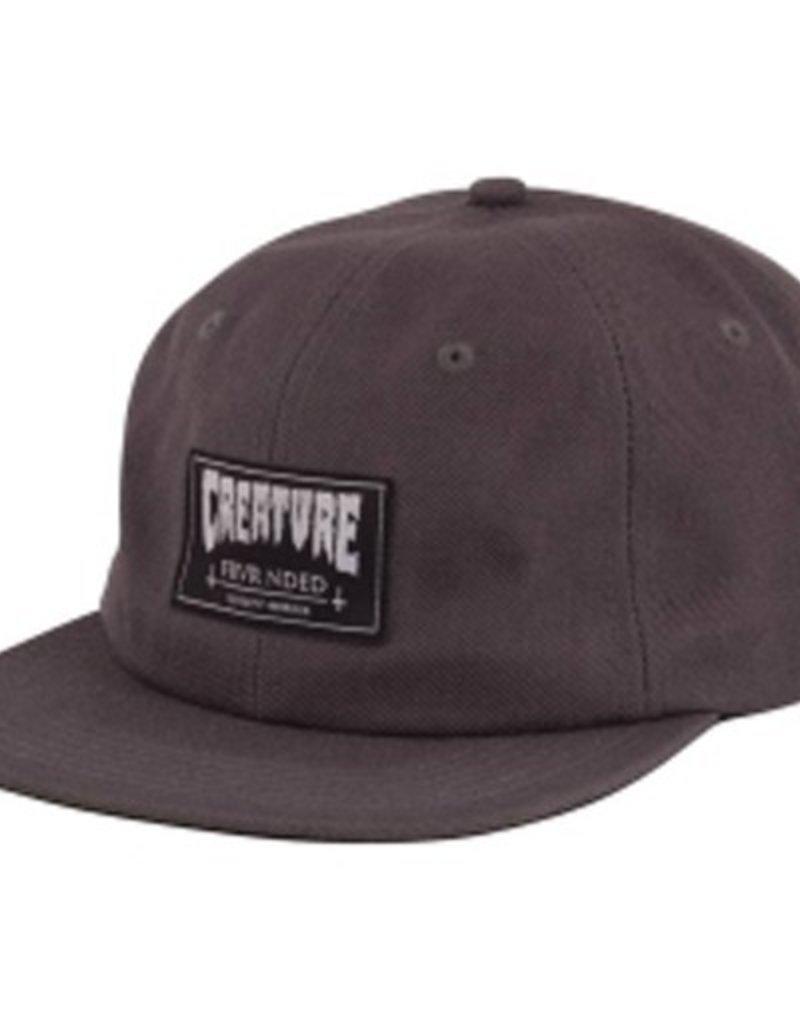 Creature Creature- Frvr Nded- Snapback- Dark Heather Grey- Hat