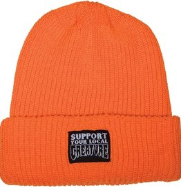 Creature Creature- Support- Long Shoreman- Safey Orange- Beanie