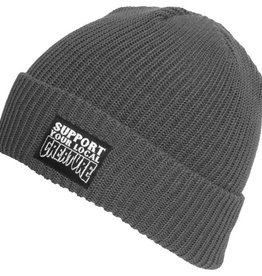Creature Creature- Support- Long Shoreman- Charcoal- Beanie