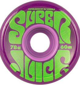 OJ OJ- Super Juice- 60mm- 78a- Trans Purple- Wheels