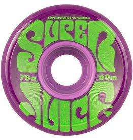 OJ OJ- Super Juice- 60mm- 78a- Trans Purple- Wheels