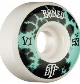 Bones Bones- Deep Dye- Street Tech Formula- V1- 53mm- 103a- Wheels