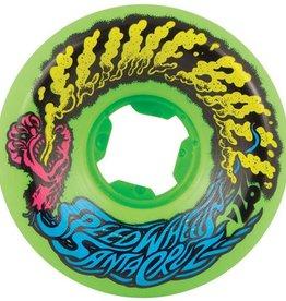 Santa Cruz Santa Cruz- Slime Balls- Vomit Mini- 54mm- 97a- Neon Green- Wheels