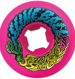 Santa Cruz Santa Cruz- Slime Balls- Vomits- 60mm- 97a- Neon Blue/Neon Pink Swirl- Wheels