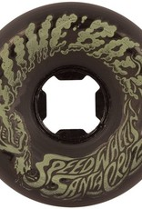 Santa Cruz Santa Cruz- Slime Balls- Vomit Mini- 56mm- 97a- Black Glow- Wheels