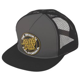 Santa Cruz Santa Cruz- Spangle Dot- Snapback- Grey/Black- Hat