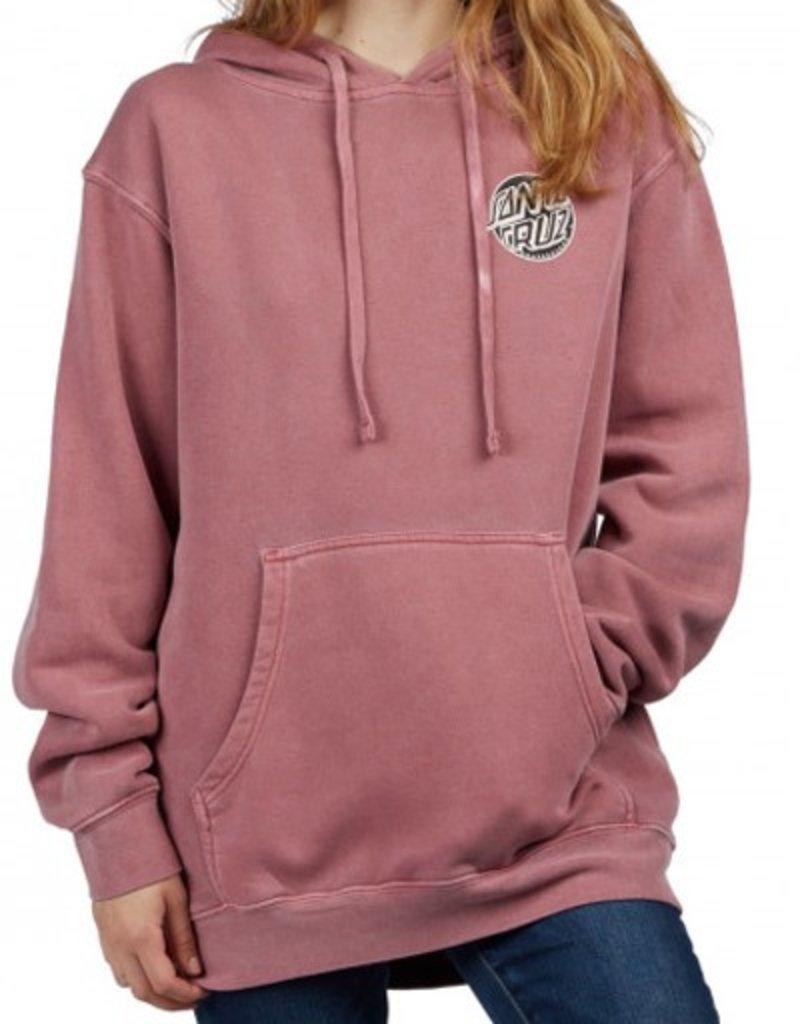 Santa Cruz Santa Cruz- Fisheye Dot- Boyfriend Sweatshirt- Women's- Hoodie