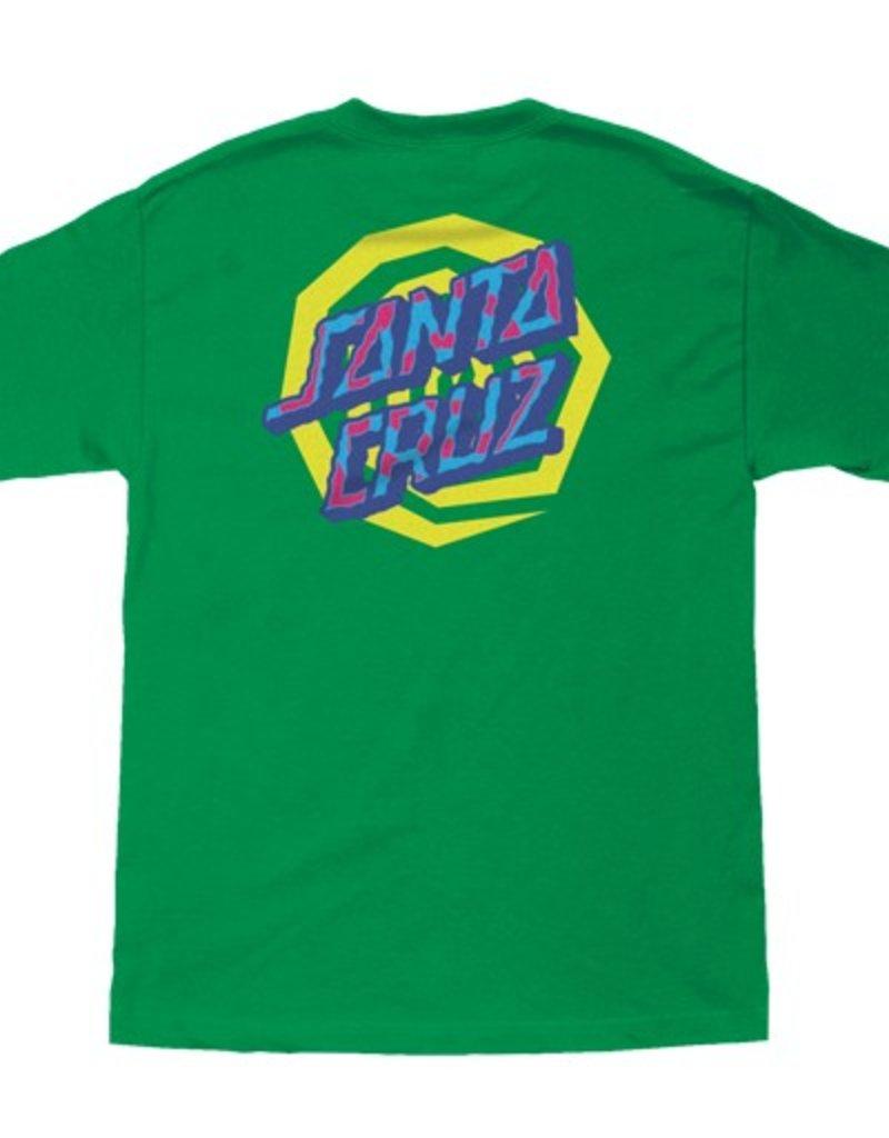 Santa Cruz Santa Cruz- Illusion Dot- Short Sleeve- Youth- T-Shirt