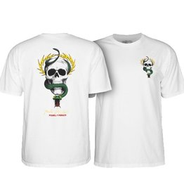 Powell Peralta Powell Peralta- McGill- Skull and Snake- White- T-shirt