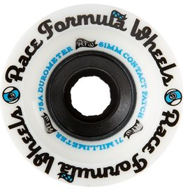 Sector 9 Sector 9- Race Formula- 71mm- 75a- White- Wheels