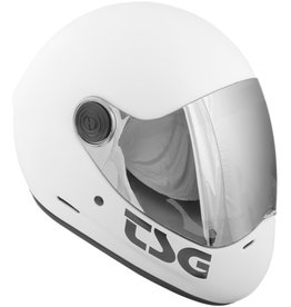 TSG TSG- Pass- Full Face- Satin White- Small- Helmet