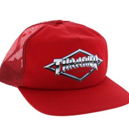Thrasher Thrasher- Diamond Emblem- Mesh- Red- Hat