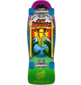 "Santa Cruz Santa Cruz- Kendall End Of the World- 10"" x 29.7""- Complete"