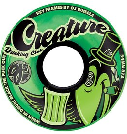 OJ OJ- Creature Drinking Club Keyframe- Green- 54mm- 87a- Wheels