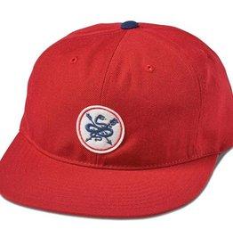 Primitive Primitive- Serpent- Snapback- Red/Midnight- Hat