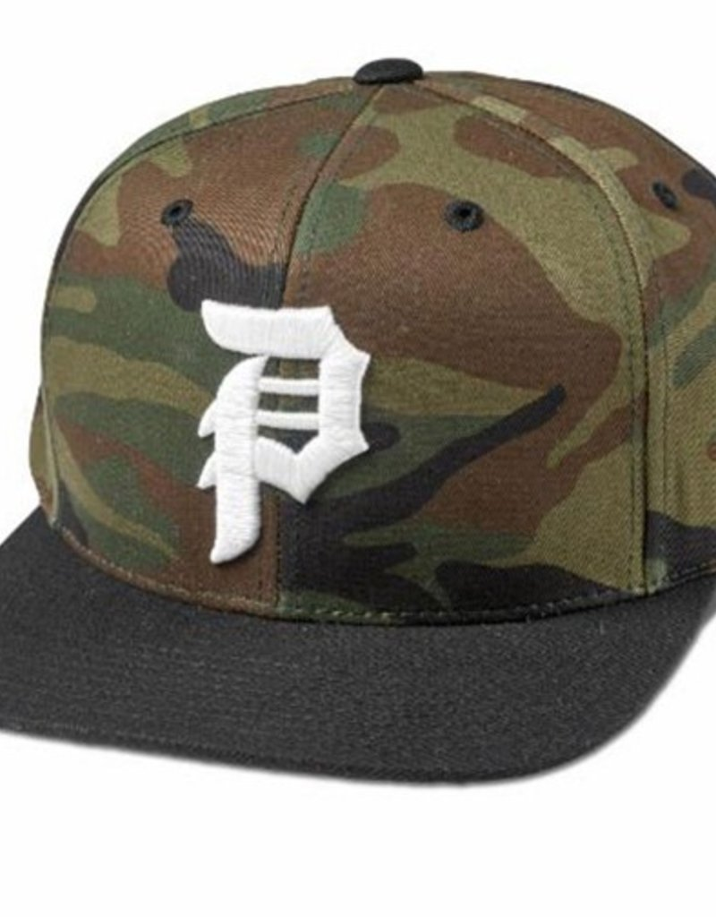 Primitive Primitive- Dirty P- Snapback- Camo- Hat