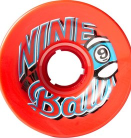 Sector 9 Sector 9- Nineballs- 74mm- 78a- Red- Wheels