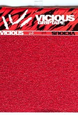 Vicious Vicious- Red- 4 pieces- 10 inch x 11 inch- Grip Tape Pack