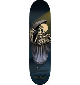"Powell Peralta Powell Peralta- Garbage Can Skelly- Blue- 8"" x 31.45""- Deck"