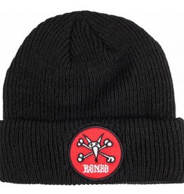 Powell Peralta Powell Peralta- Red Vato Rat- Black-Beanie