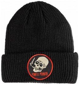 Powell Peralta Powell Peralta- Smoking Skull- Black- Beanie