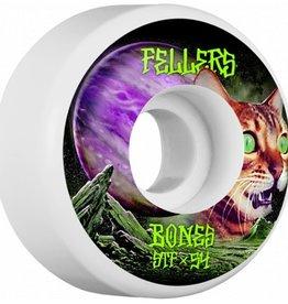 Bones Bones- Fellers Galaxy Cat- 52mm- V1 Shape- Street Tech Formula- Wheels