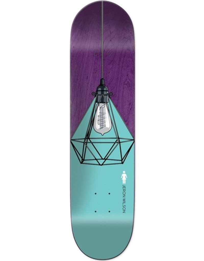 "Girl Girl- Illuminated- Wilson- 8.125"" x 31.625""- Deck"