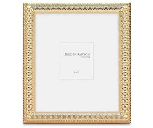 reed barton watchband satin gold 8x10 picture frame luxe objects