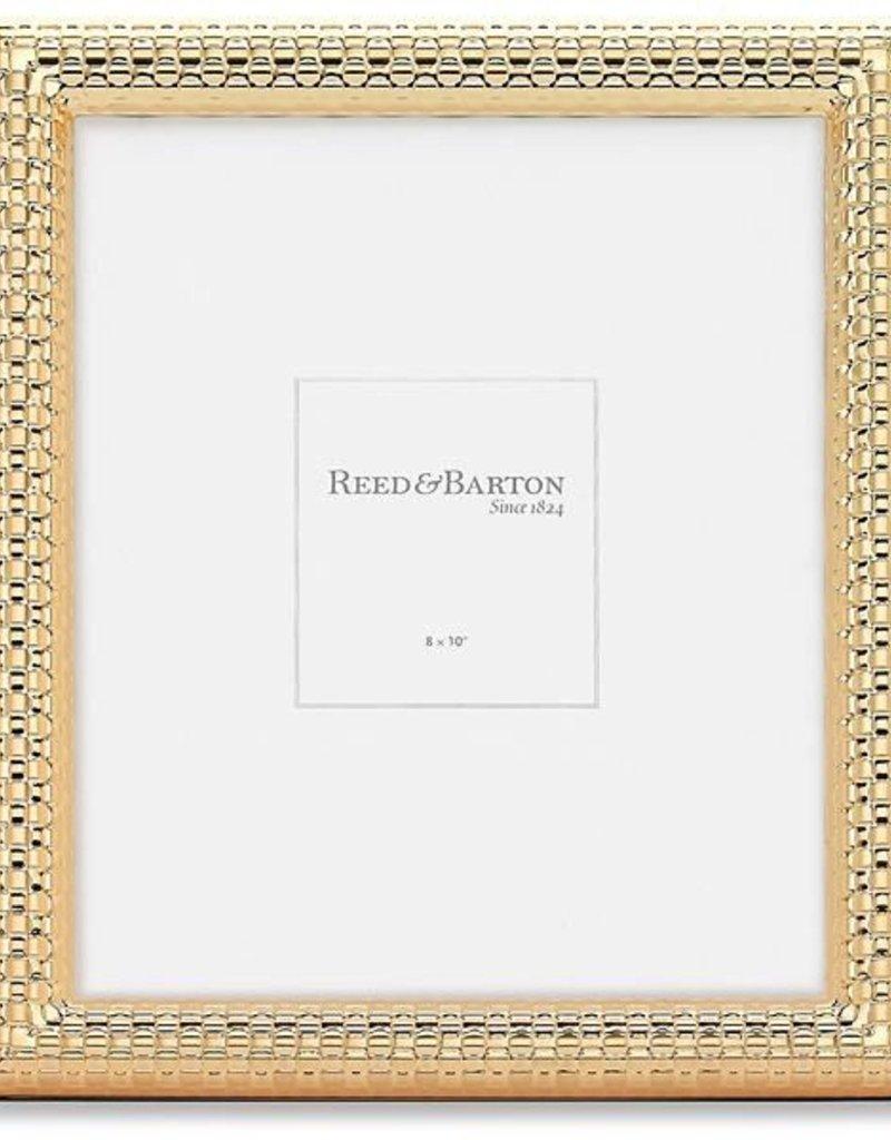 reed barton watchband satin gold 8x10 frame