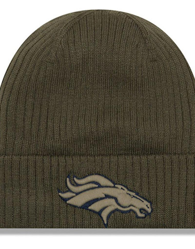f2f1ef811 ... hat with pom 816d3 30103  promo code for new era denver broncos new era  nfl 2018 salute to service cuffed knit