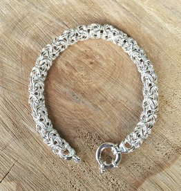 Sterling Link Chain Bracelet