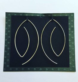 Valerie Davidson Sterling Wire Earring