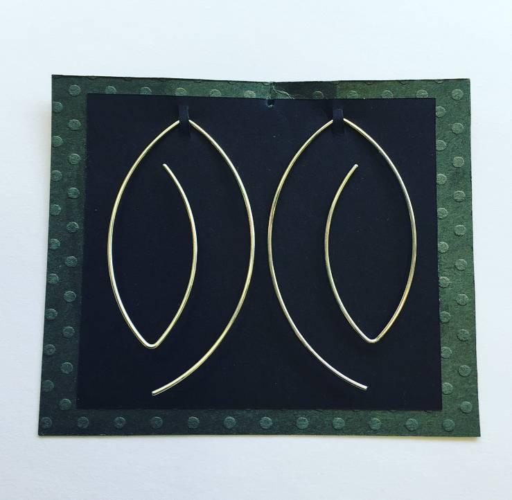 Valerie Davidson Sterling Wire Earring