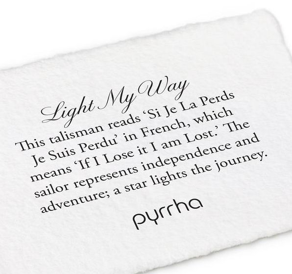 "Pyrrha Light My Way Clasp Bracelet 7"""